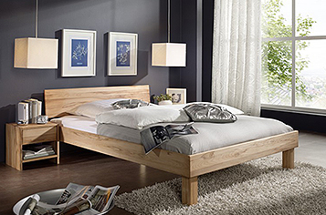 bett 160x200 cm g nstig kaufen doppelbetten von sam. Black Bedroom Furniture Sets. Home Design Ideas