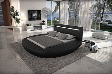 bett 200x220 cm g nstig kaufen doppelbetten von sam. Black Bedroom Furniture Sets. Home Design Ideas