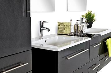Moderne badezimmermöbel schwarz  Moderne Badezimmermöbel Günstig ~ Die beste Inspiration für Ihren ...