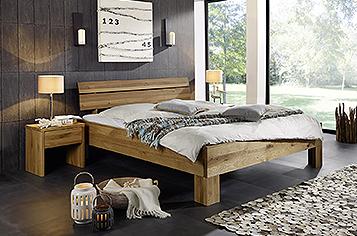 Betten g nstig kaufen designerbetten sam for Wohnzimmermobel echtholz modern