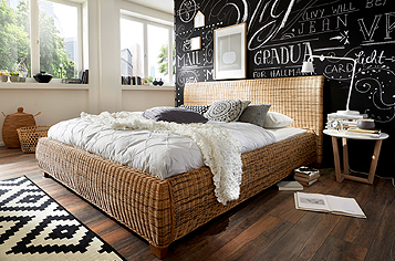 betten g nstig kaufen designerbetten sam. Black Bedroom Furniture Sets. Home Design Ideas