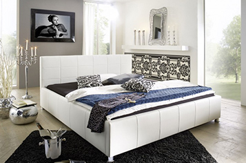 bett 140x200 cm g nstig kaufen doppelbetten von sam. Black Bedroom Furniture Sets. Home Design Ideas