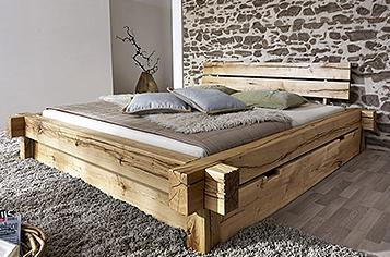 bett 140x200 g nstig kaufen doppelbetten von sam. Black Bedroom Furniture Sets. Home Design Ideas