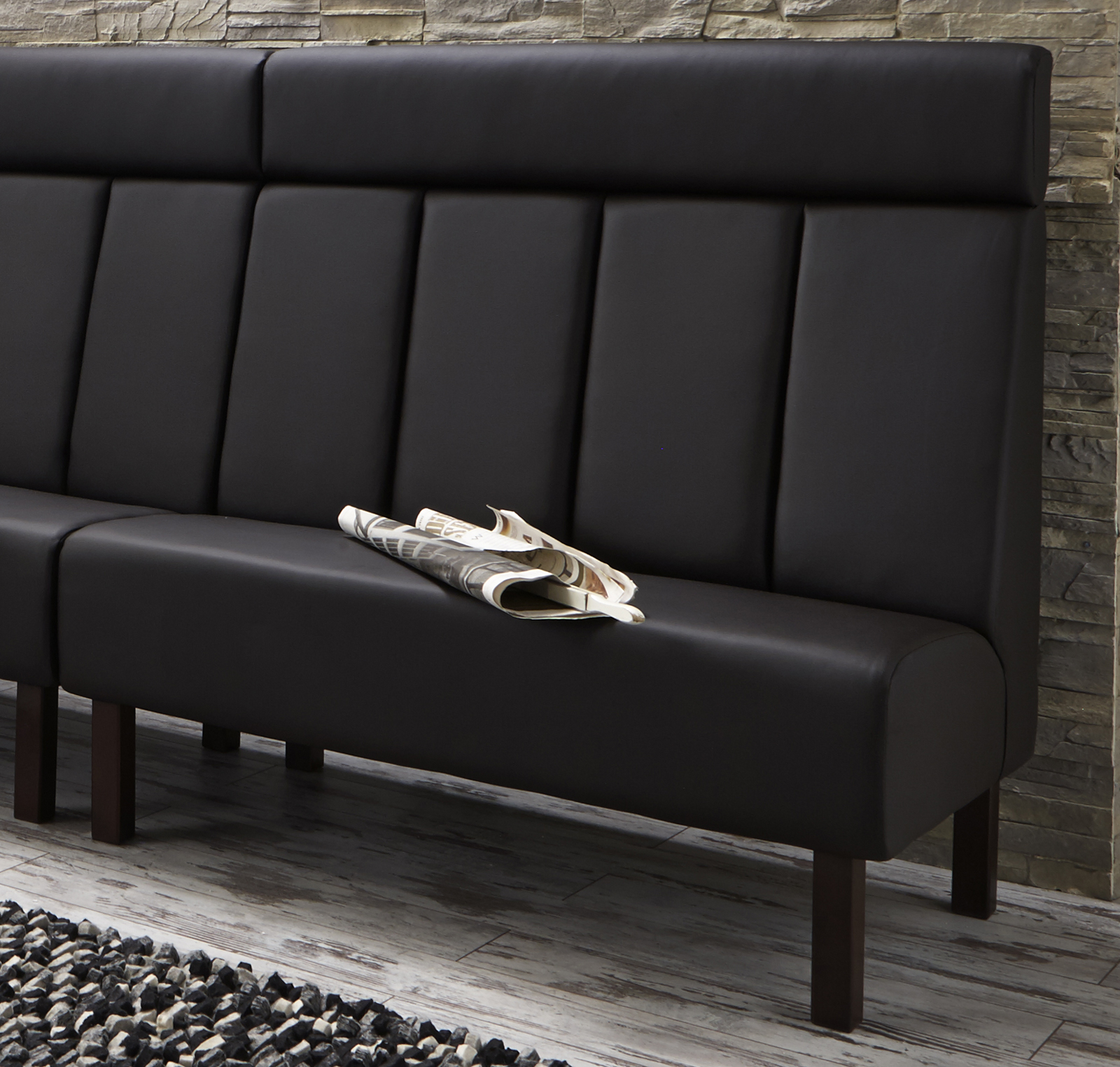 sam esszimmer system bank braun austin ma anfertigung. Black Bedroom Furniture Sets. Home Design Ideas