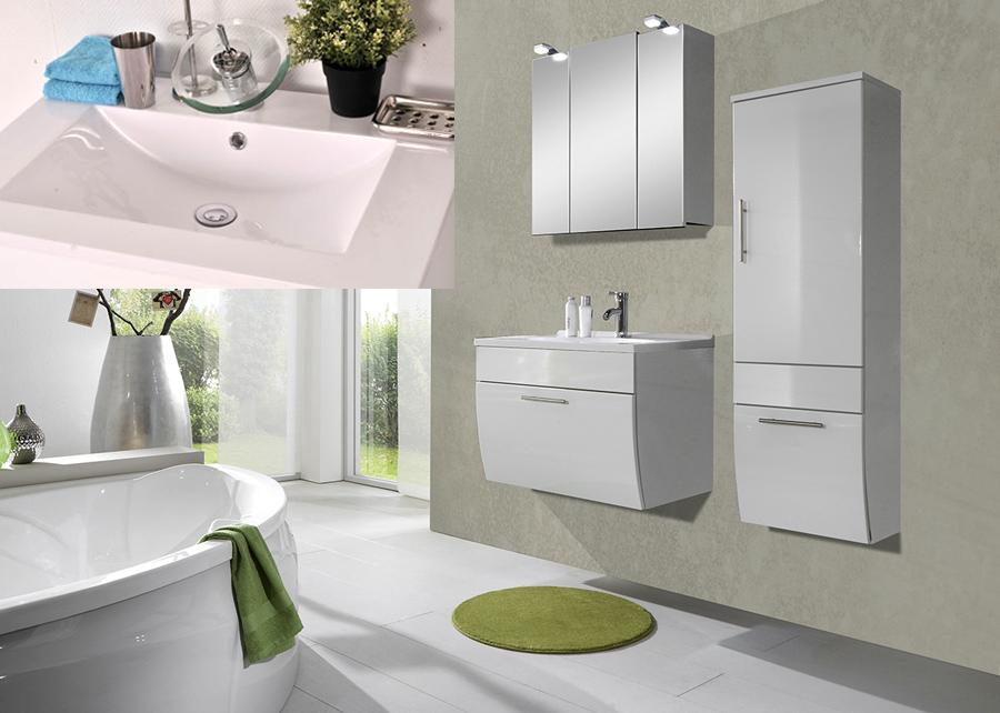 sam badm bel set santana 3tlg wei 70 cm beckenauswahl. Black Bedroom Furniture Sets. Home Design Ideas