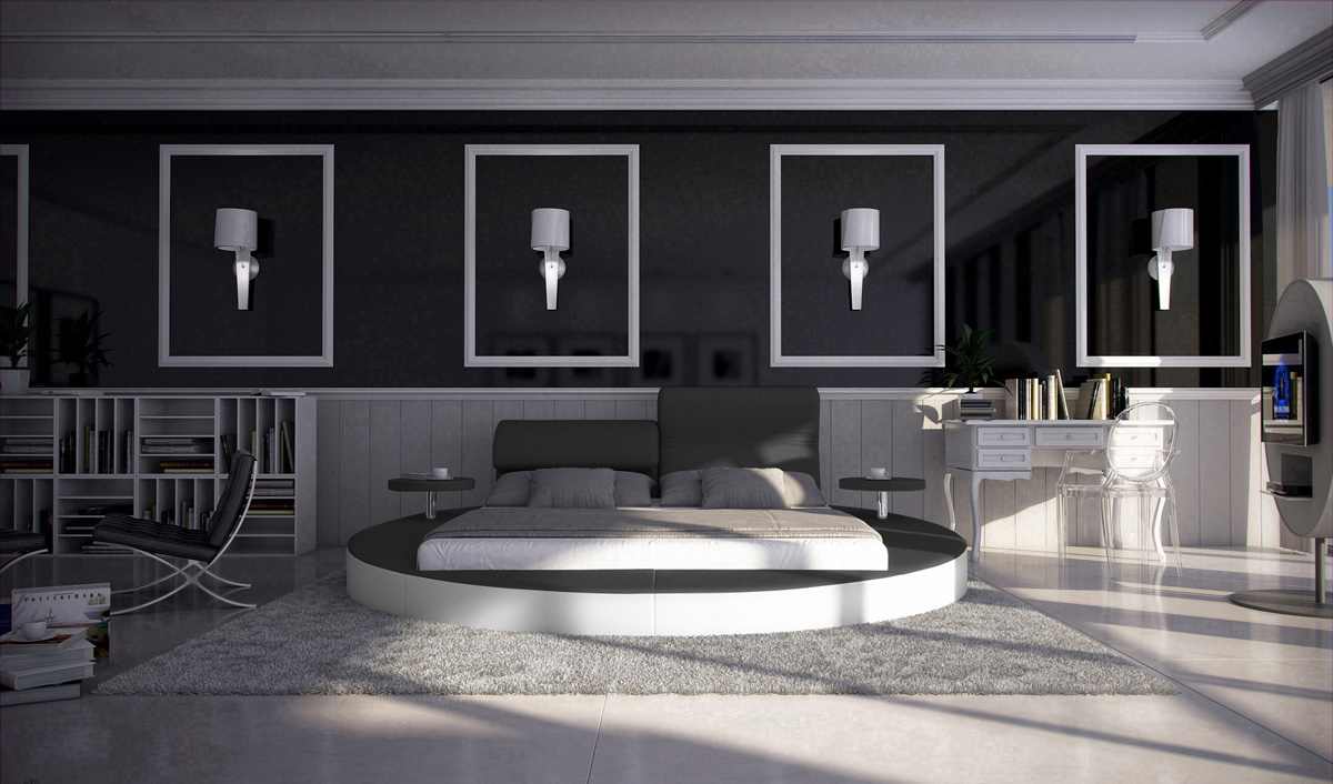 sam rundbett innocent 180 x 200 cm farbauswahl evory bestellware. Black Bedroom Furniture Sets. Home Design Ideas