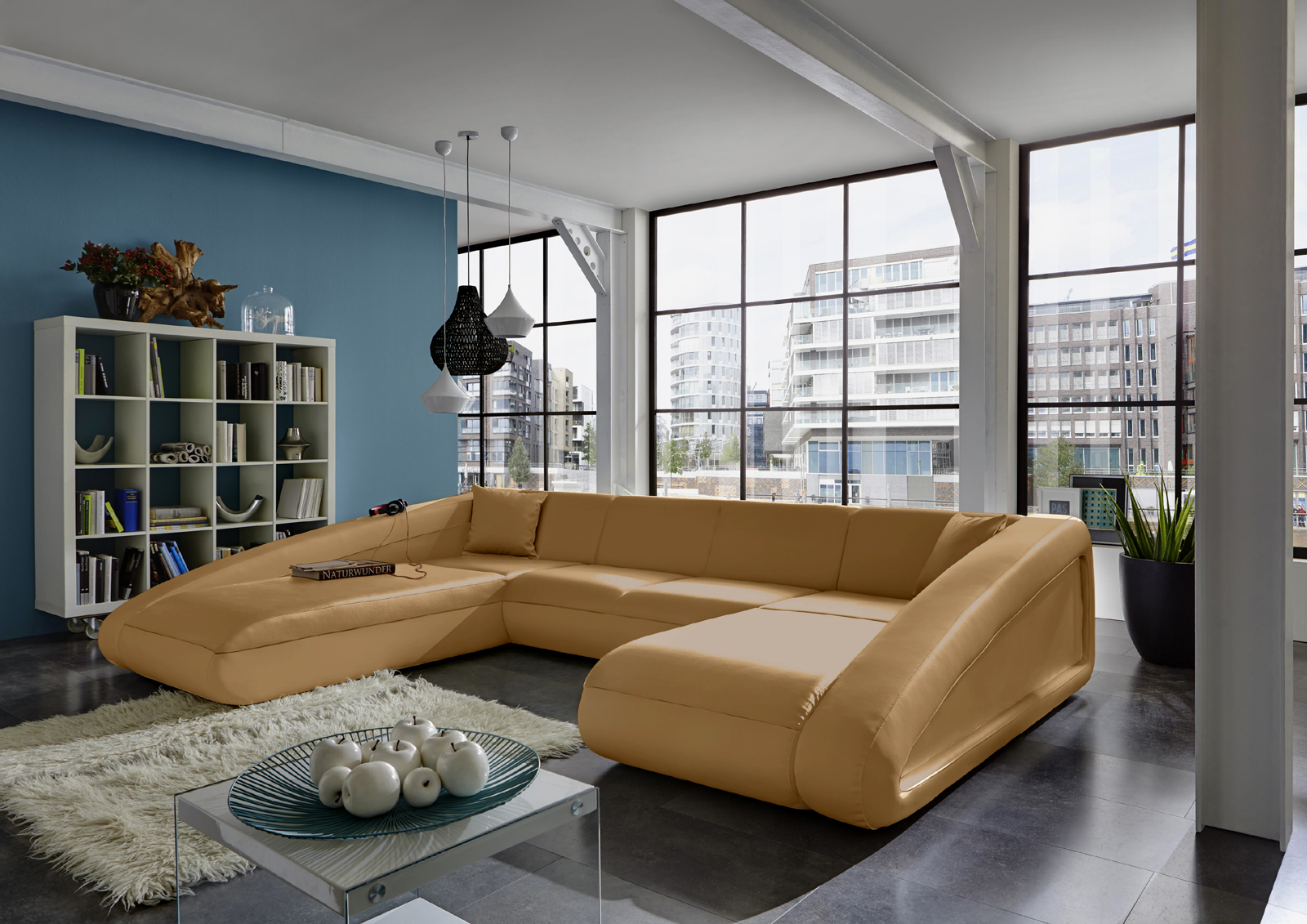 Sam wohnlandschaft farbauswahl sofa ciao 250 x 355 x 205 for Farbauswahl wohnung