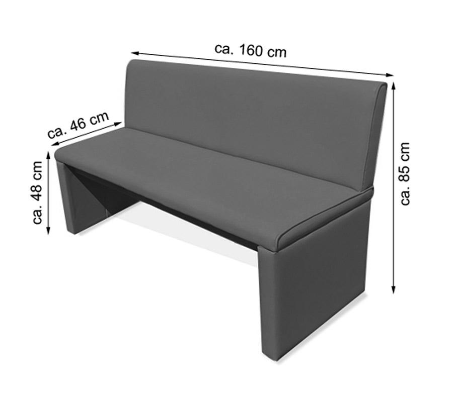 sitzbank mit rckenlehne wei finest sitzbank mit lehne aluminium sitzbank ohne lehne weiss. Black Bedroom Furniture Sets. Home Design Ideas