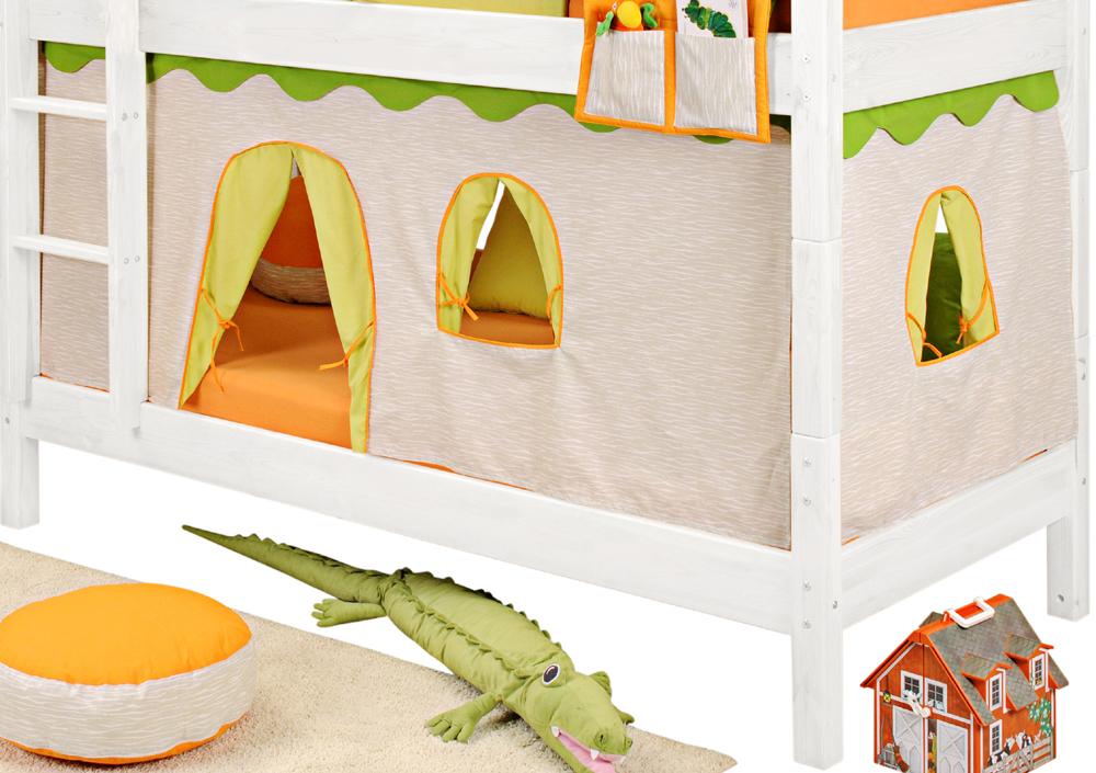 sam vorh nge f r kinderbetten in verschiedenen varianten. Black Bedroom Furniture Sets. Home Design Ideas