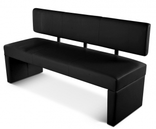 sitzbank g nstig kaufen lederb nke mit lehne von sam. Black Bedroom Furniture Sets. Home Design Ideas