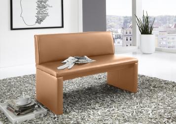 sitzbank modern mit lehne, sitzbank günstig kaufen - lederbänke mit lehne von sam®, Innenarchitektur