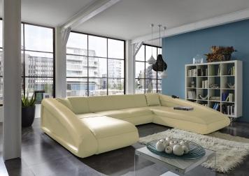 Wohnlandschaft g nstig kaufen xxl sofas von sam for Couchlandschaft xxl