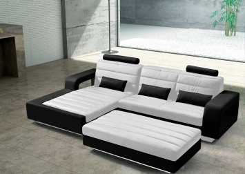 Sam wohnzimmer design hocker 153 cm wei schwarz new york for Wohnzimmer york