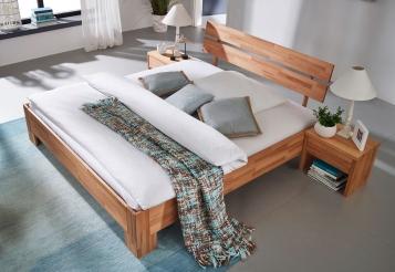 Holzbett massiv 140x200  Holzbett 140x200 cm günstig kaufen - Holzbetten | SAM®