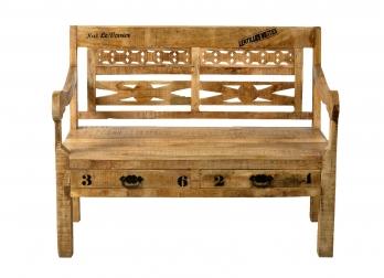 sitzbank g nstig kaufen lederb nke mit lehne von sam. Black Bedroom Furniture Sets. Home Design Ideas