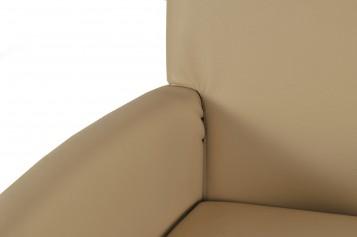 sam design armlehnstuhl cadeo recyceltes leder creme buche demn chst. Black Bedroom Furniture Sets. Home Design Ideas