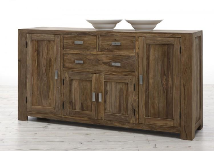Sam gro es sideboard vollholz 175 cm palisander na 23 auf for Sideboard vollholz