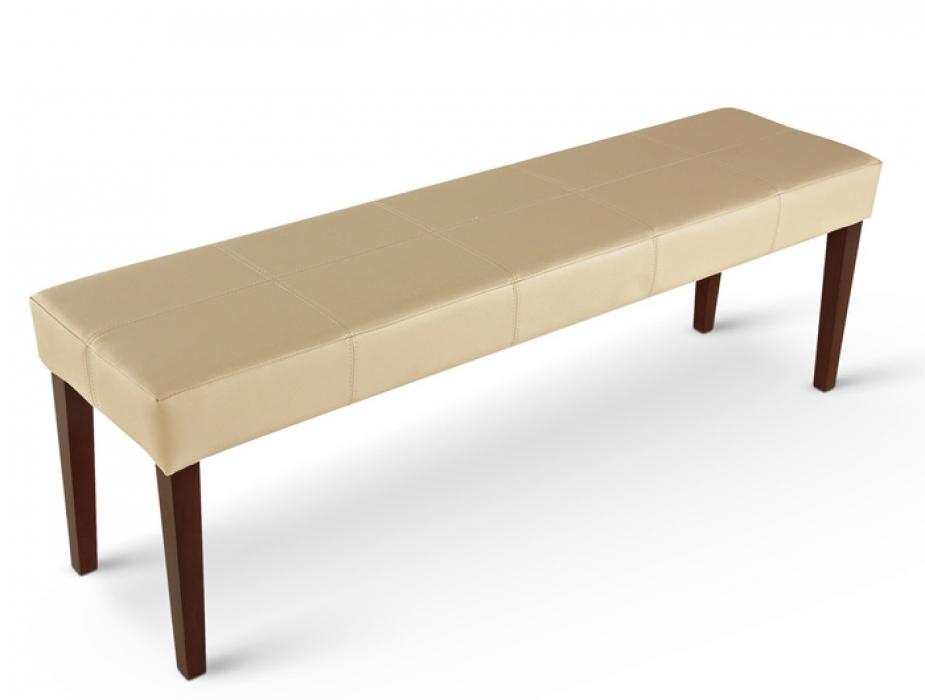 sam esszimmerbank sitzbank 145 creme recyceltes leder. Black Bedroom Furniture Sets. Home Design Ideas