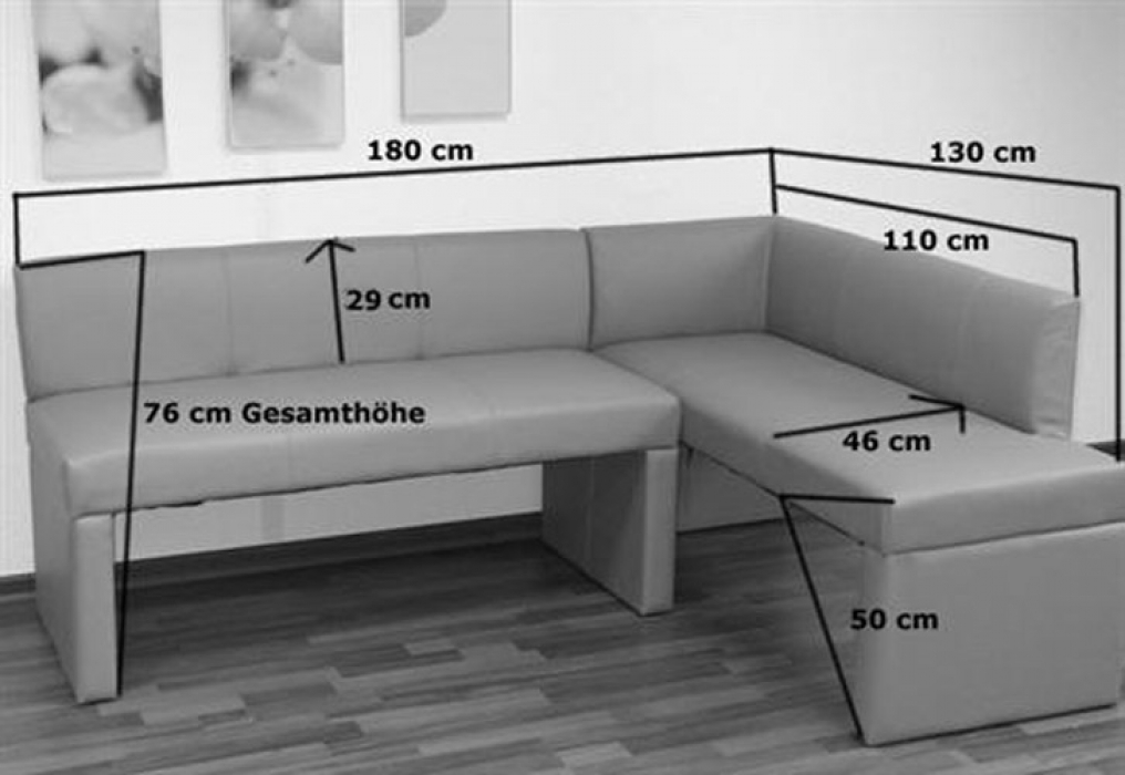 sam esszimmer eckbank recyceltes leder braun toulouse i. Black Bedroom Furniture Sets. Home Design Ideas
