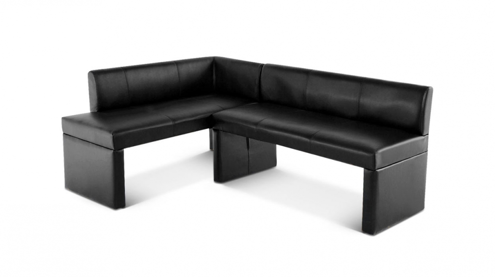 sam design esszimmer eckbank recyceltes leder paris ii schwarz. Black Bedroom Furniture Sets. Home Design Ideas
