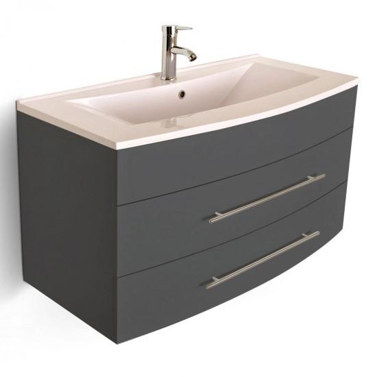 sam 3tlg badm bel set 100cm beckenauswahl grau z rich. Black Bedroom Furniture Sets. Home Design Ideas