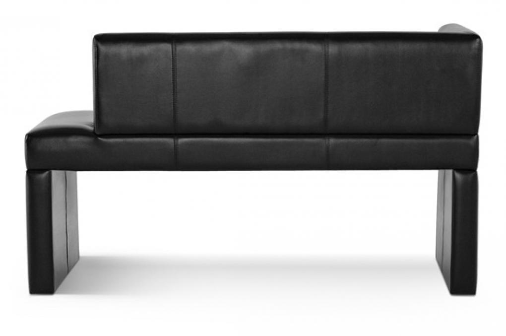 sam ottomane recamiere recyceltes leder schwarz paris i. Black Bedroom Furniture Sets. Home Design Ideas