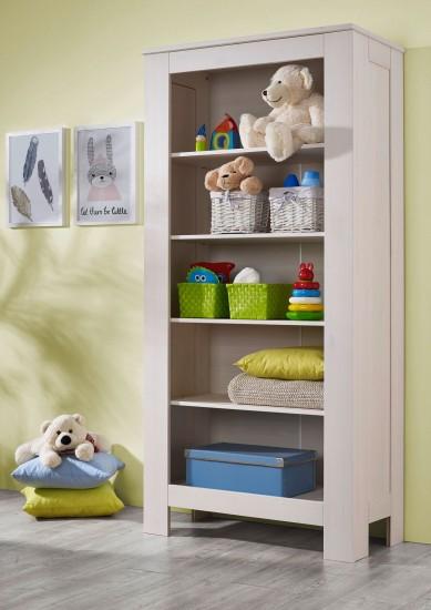 sam kleines wandregal wei kiefernholz emma auf lager. Black Bedroom Furniture Sets. Home Design Ideas