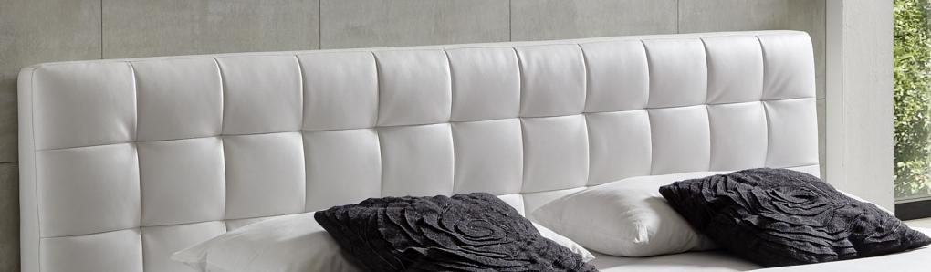 sale polsterbett wei doppelbett 160 x 200 cm g nstig vita. Black Bedroom Furniture Sets. Home Design Ideas
