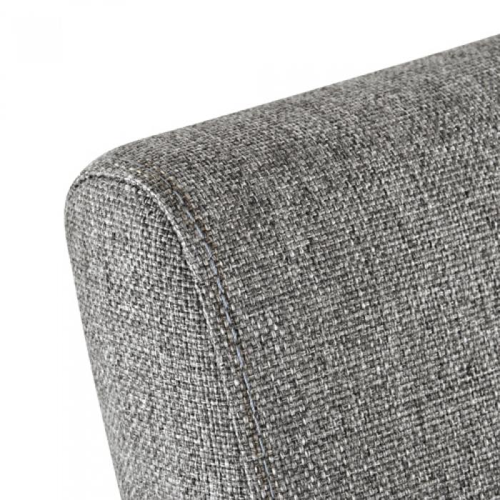 SAM® Esszimmer Stoff Stuhl Grau Buche Cordoba