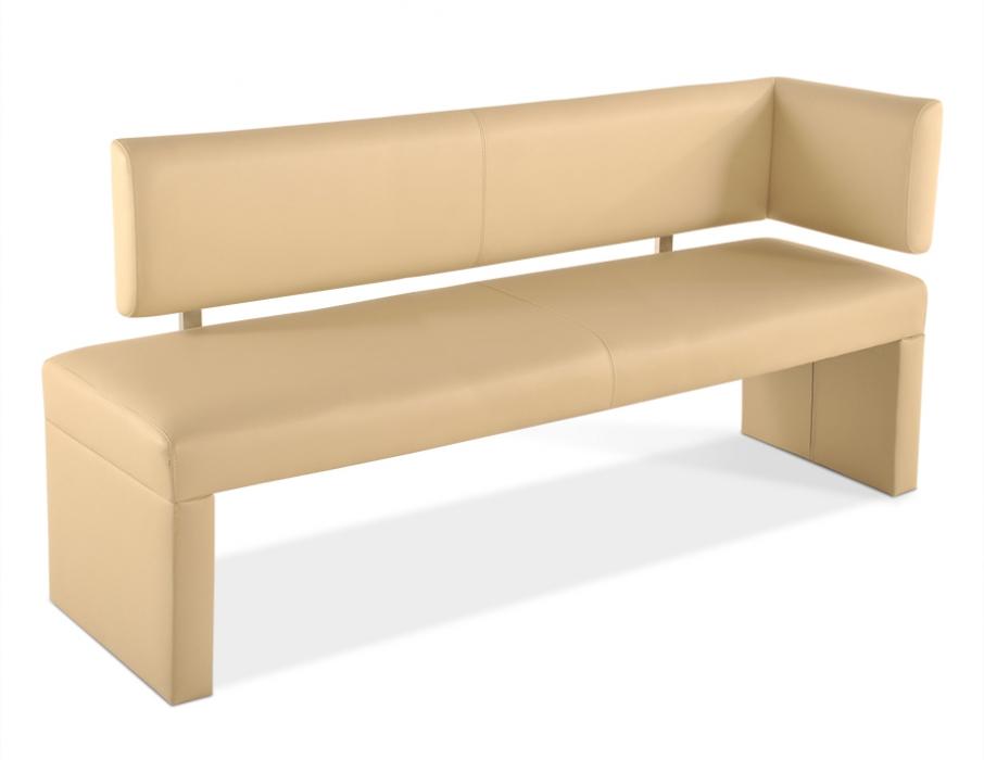 SAM® Sitzbank mit Lehne Ottomane 170 cm creme SANDRA Demnächst !