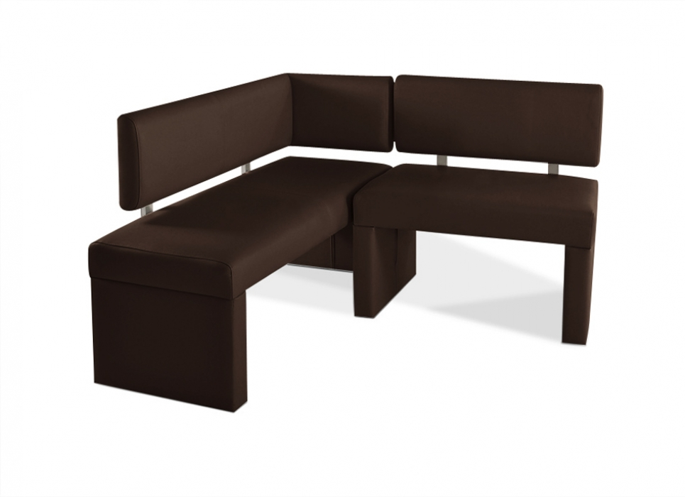 sam recyceltes leder eckbank nach ma braun 130 x cm. Black Bedroom Furniture Sets. Home Design Ideas
