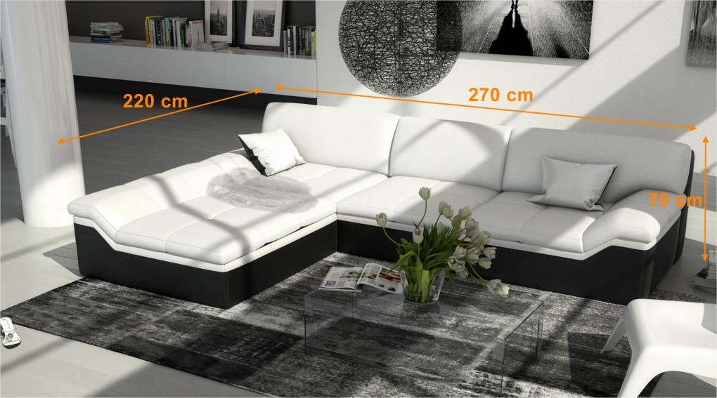 sam ecksofa farbauswahl mistico sofa 220 x 270 cm. Black Bedroom Furniture Sets. Home Design Ideas