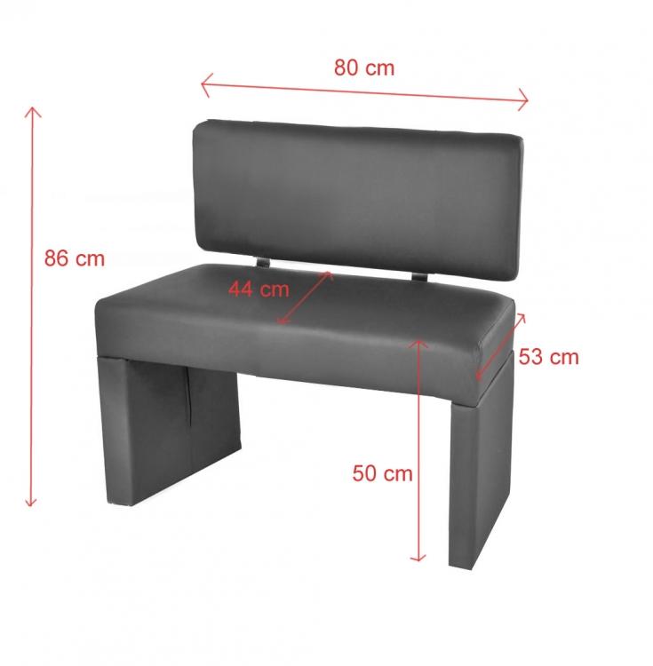sam sitzbank sina 80 cm recyceltes leder muddy. Black Bedroom Furniture Sets. Home Design Ideas