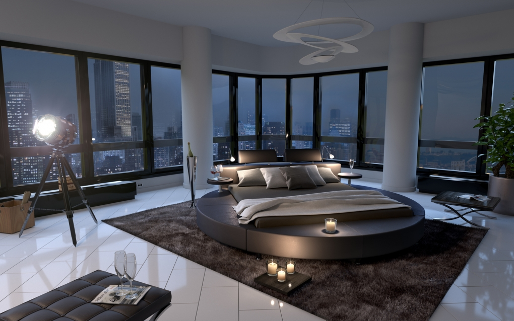 Rundes Bett Kaufen Runde Betten Fr Die Schlafzimmer