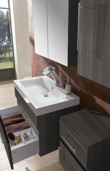 sam 4tlg badezimmer set tr ffeleiche 80 cm lunar. Black Bedroom Furniture Sets. Home Design Ideas
