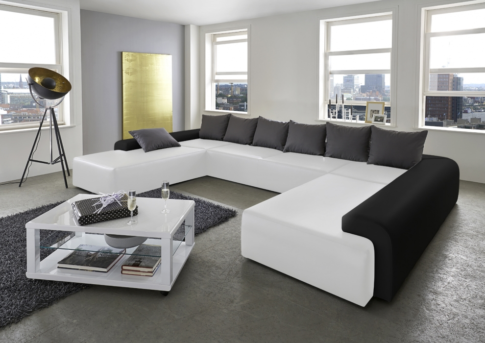 black white stil art m bel. Black Bedroom Furniture Sets. Home Design Ideas