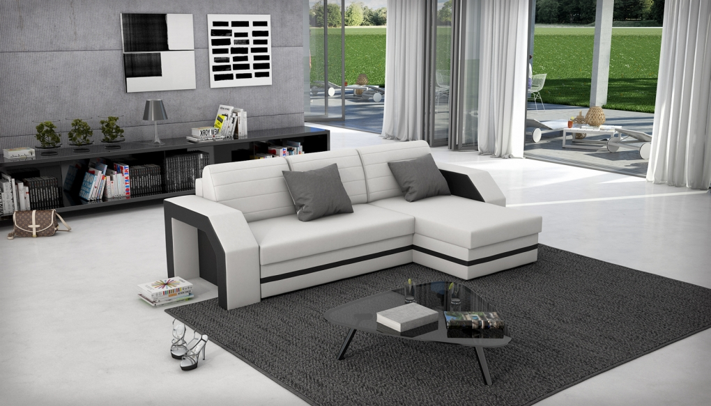 ecksofa g nstig kaufen gro e sofaauswahl von sam. Black Bedroom Furniture Sets. Home Design Ideas