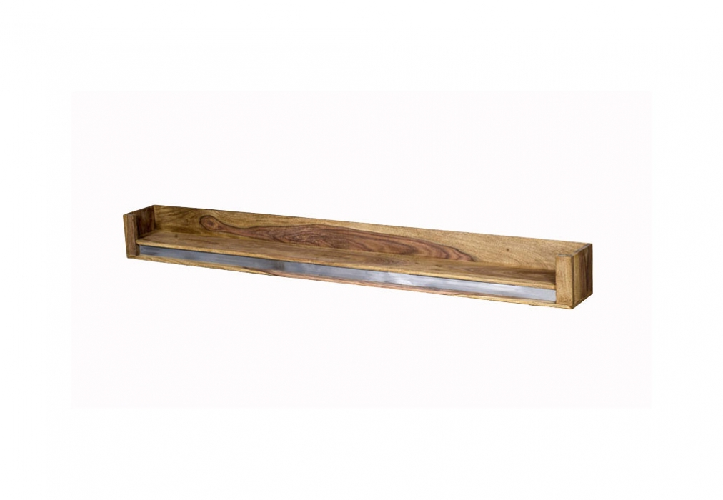 SAM® Wandregal Wildeiche massiv 111 cm Ancona I Auf Lager ! itemprop=