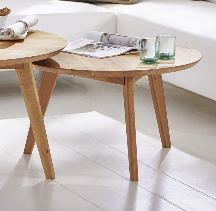 sam tisch couchtisch 70 cm rund massivholz kernbuche olpe. Black Bedroom Furniture Sets. Home Design Ideas