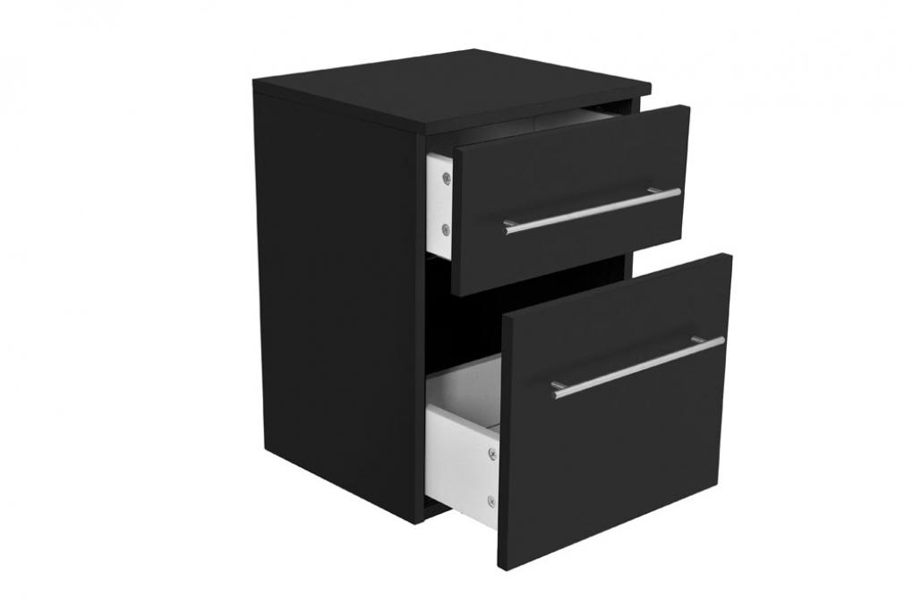 Cool SAM® 5tlg. Badezimmer Set Spiegelschrank schwarz 120 cm Verena  ZR46