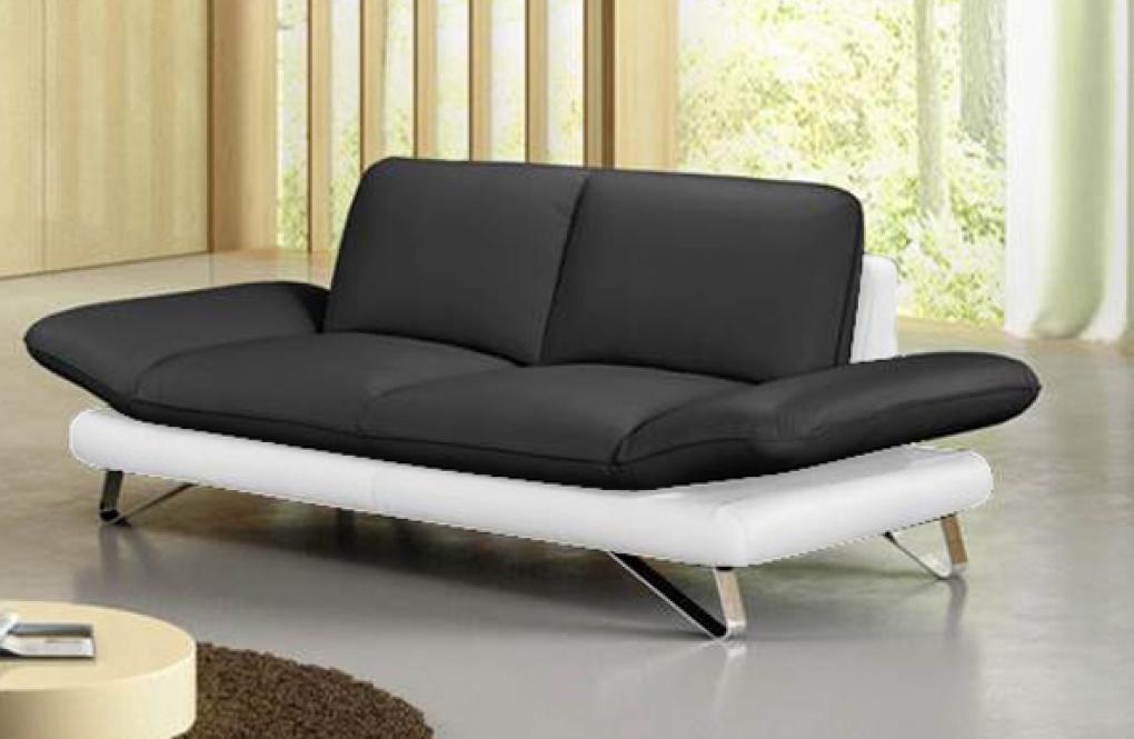 SAM® Design Sofa Garnitur 2 U0026 3 Sitzer Schwarz Weiß TAIFUN Auf Lager !  Itemprop