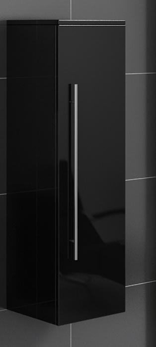 SAM® Badezimmer Hochschrank schwarz Lunar günstig