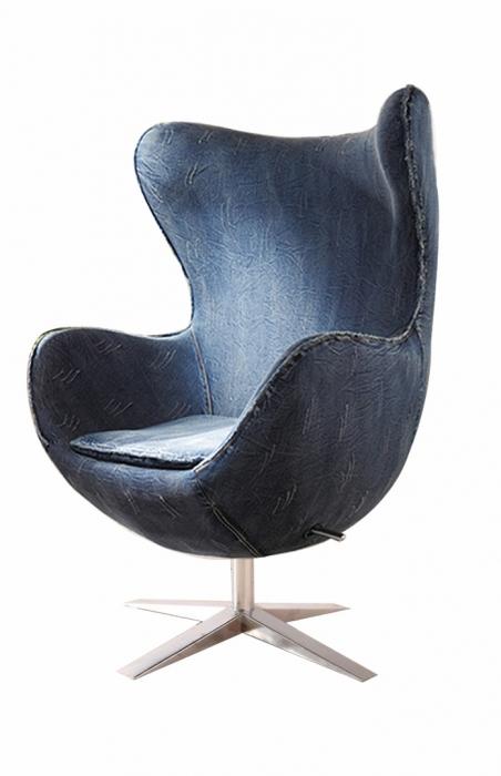 Sessel g nstig kaufen hochwertige designsessel von sam for Ohrensessel drehbar