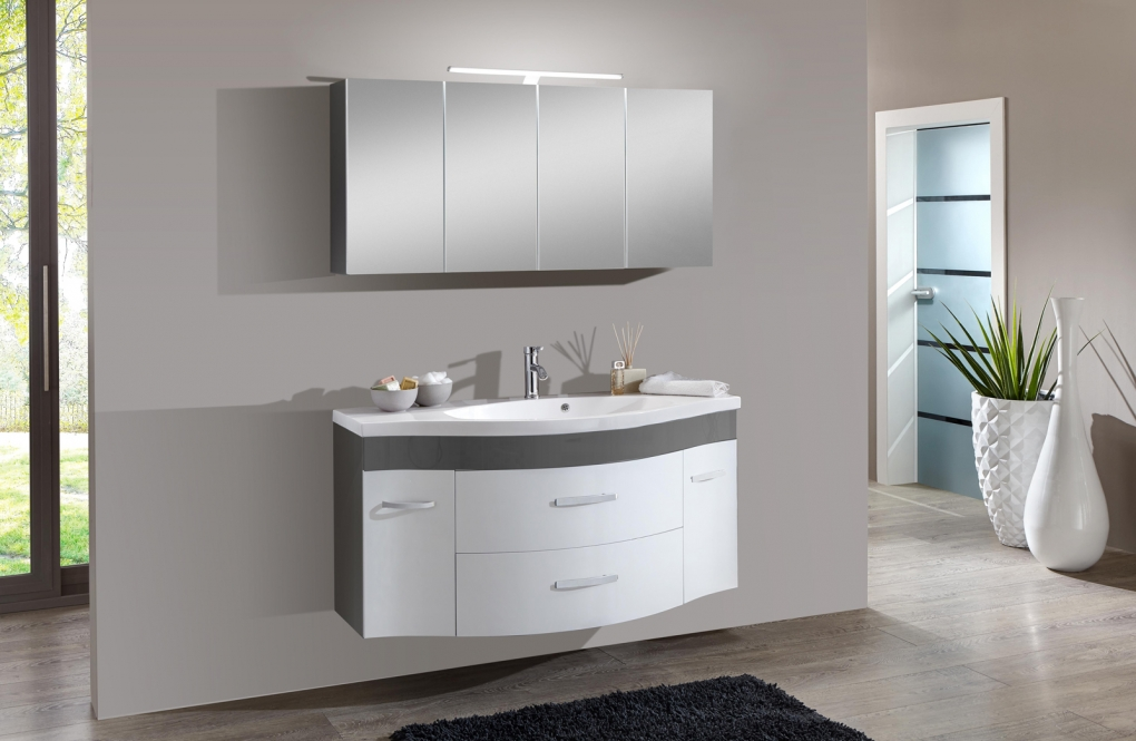Wandfarbe Zu Weien Mbeln Badezimmer Weiß Grau Badezimmer In Grau U Flashzoom
