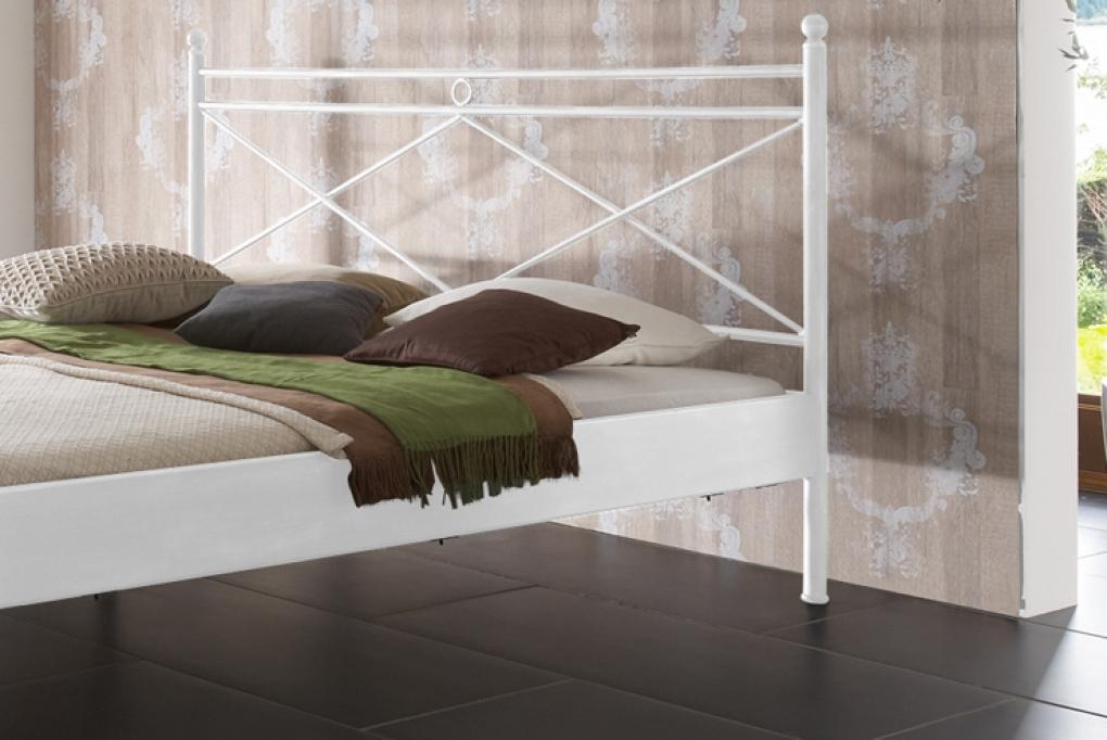sam metallbett wei 180 x 200 cm imola g nstig. Black Bedroom Furniture Sets. Home Design Ideas