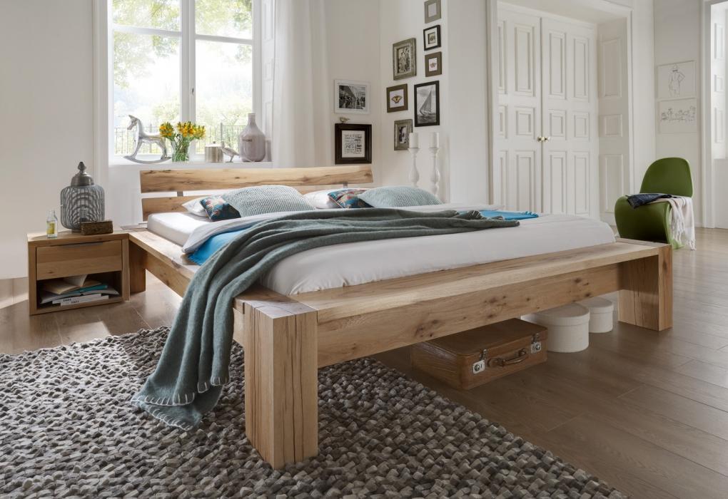 Balkenbett günstig kaufen - Holzbalkenbetten von SAM®