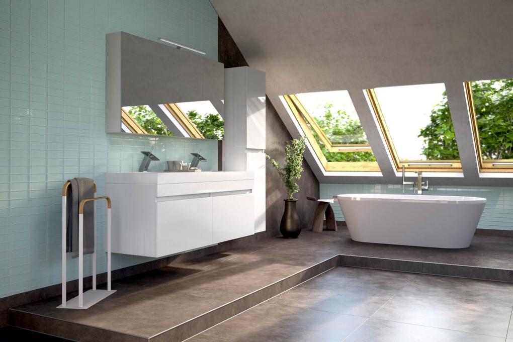 sam badm bel set 3tlg doppelwaschtisch 140 cm wei parma deluxe demn chst. Black Bedroom Furniture Sets. Home Design Ideas