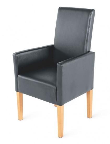 Sam esszimmer armlehnstuhl hellgrau buche mio auf lager for Esszimmer armlehnstuhl