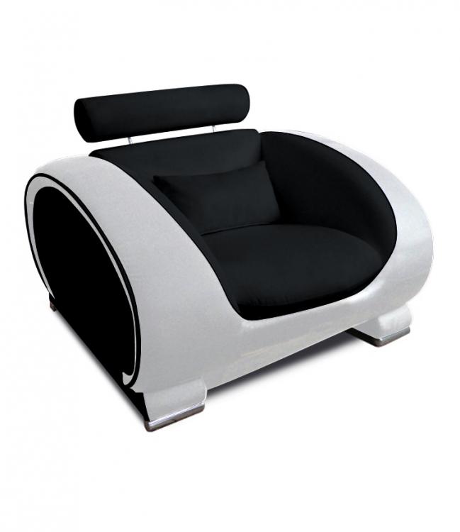sam design wohnzimmersessel schwarz wei vigo. Black Bedroom Furniture Sets. Home Design Ideas