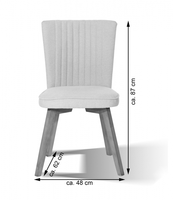 sam esszimmer design stuhl 4733 15 blau hevea sit demn chst. Black Bedroom Furniture Sets. Home Design Ideas